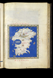 Map Of Ireland By Henricus Martellus, Ca.1490